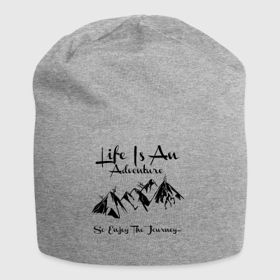 Life Is An Adventure So Enjoy The Journey Design - Jersey Beanie