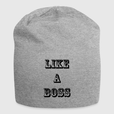 come un boss - Beanie in jersey