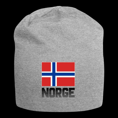 Norway flag flag Norge national colors pride - Jersey Beanie