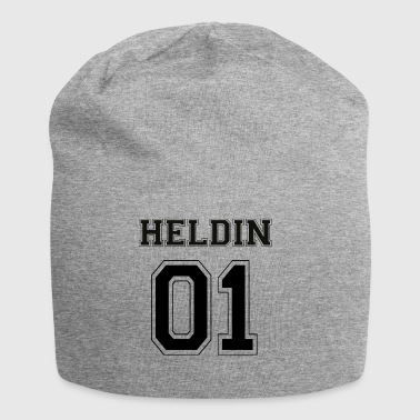 EROINA 01 - Black Edition - Beanie in jersey