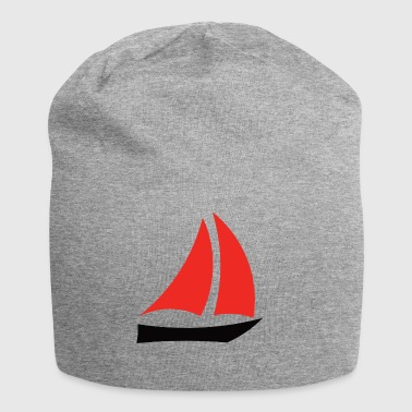paddle boat sail boat rowing boat sailboat25 - Jersey Beanie