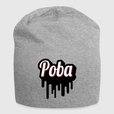 POBA! Multicolor Dripping - Beanie in jersey