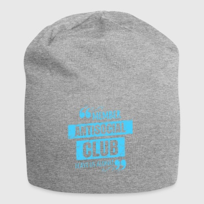 Antisocial Club Member - Lass uns in Ruhe! - Jersey-Beanie