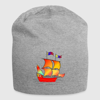 The red boat - Jersey Beanie