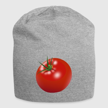 Tomaat gift chef kok - Jersey-Beanie