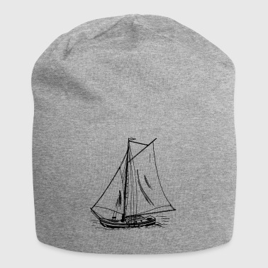 paddle boat sail boat rowing boat sailboat60 - Jersey Beanie