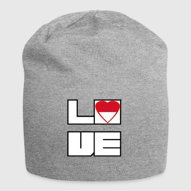 Love Land Roots Indonesien - Jersey-Beanie