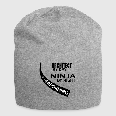 Ninja at night work architect - Jersey Beanie