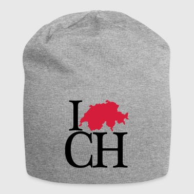I love CH - I love Switzerland - Jersey-Beanie