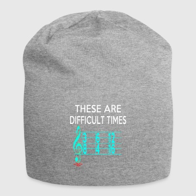 These Are Difficult Times - Jersey Beanie