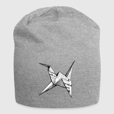 origami - Beanie in jersey
