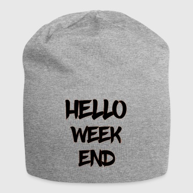 ciao week-end - Beanie in jersey