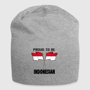 Proud to be land heimat Indonesien - Jersey-Beanie