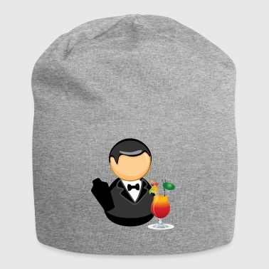 Bartender with cocktail - Jersey Beanie