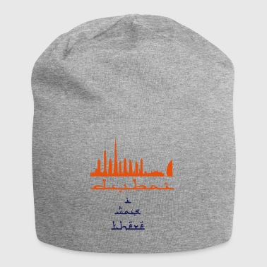 I Was There Dubai - Jersey Beanie