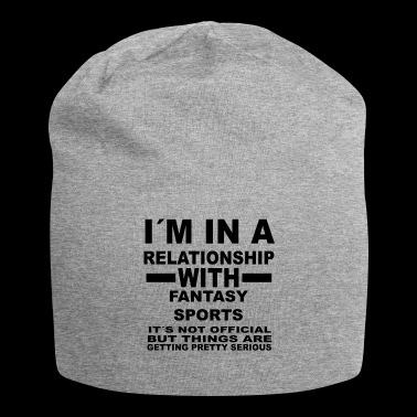 Relationship with FANTASY SPORTS - Jersey Beanie
