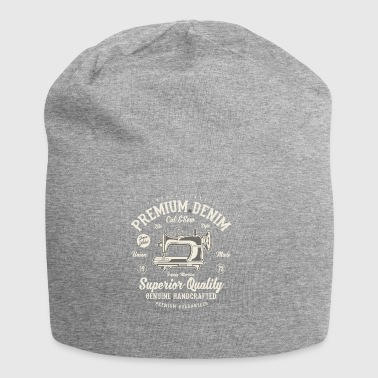 Premium Denim2 - Beanie in jersey