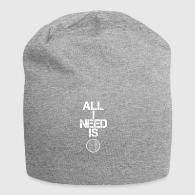 all i need gift gift hobby sport cycling maturity - Jersey Beanie