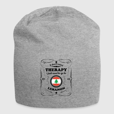 DON T NEED THERAPY GO LEBANON - Jersey Beanie