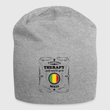 DON T NEED THERAPY GO MALI - Jersey Beanie