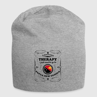 DON T NEED THERAPY GO PAPUA NEW GUINEA - Jersey Beanie