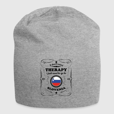 DON T NEED THERAPY GO SLOVENIA - Jersey Beanie