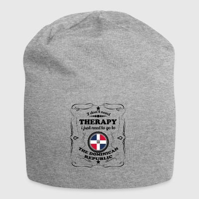 DON T NEED THERAPY GO THE DOMINICAN REPUBLIC - Jersey Beanie