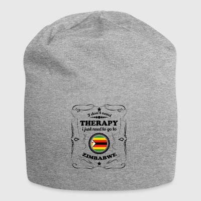 DON T NEED THERAPY GO ZIMBABWE - Jersey Beanie