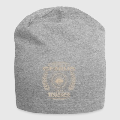 yes i am a genius gift TRUCK DRIVER - Jersey Beanie