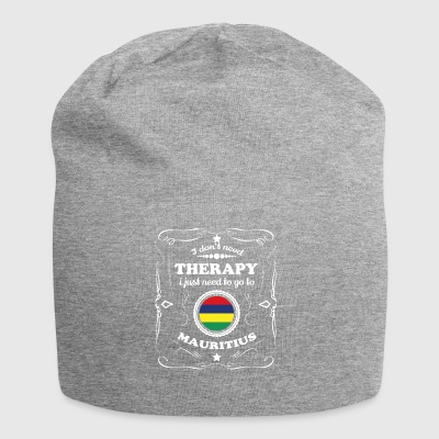 DON T NEED THERAPY WANT GO MAURITIUS - Jersey Beanie