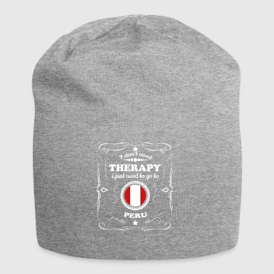 DON T NEED THERAPIE WANT GO PERU - Jersey-Beanie