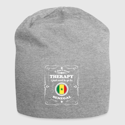 DON T NEED THERAPY WANT GO SENEGAL - Jersey Beanie