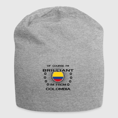 I AM GENIUS BRILLIANT CLEVER COLOMBIA - Jersey Beanie