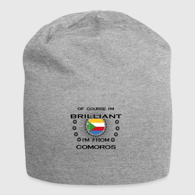 I AM GENIUS BRILLIANT CLEVER COMOROS - Jersey Beanie