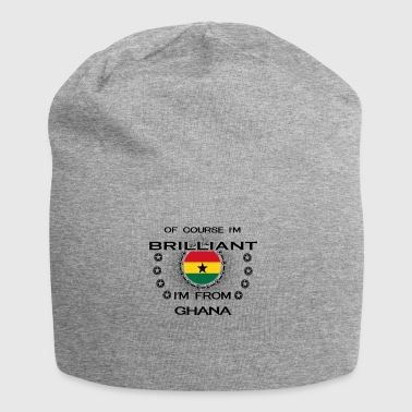I AM GENIUS BRILLIANT CLEVER GHANA - Jersey Beanie