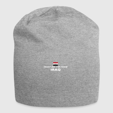 trust me from proud gift IRAQ - Jersey Beanie