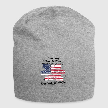 THERAPIE URLAUB AMERICA USA TRAVEL Baton Rouge - Jersey-Beanie