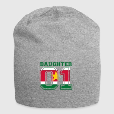 Daughter daughter queen 01 Suriname - Jersey Beanie