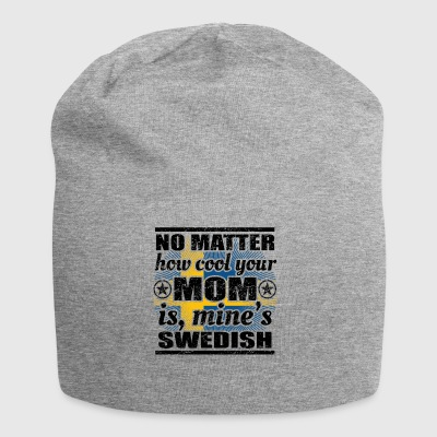 no matter cool mom mother gift Sweden png - Jersey Beanie