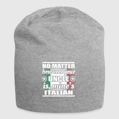 no matter cool uncle uncle gift Italy png - Jersey Beanie