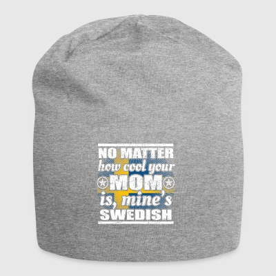 no matter mom cool mother gift Sweden png - Jersey Beanie