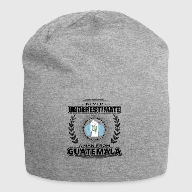 Never underestimate man roots GUATEMALA png - Jersey Beanie