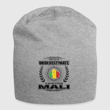 Never underestimate man roots MALI png - Jersey Beanie