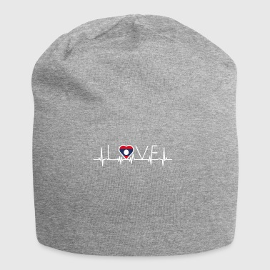 home roots queen love from heart Laos png - Jersey Beanie