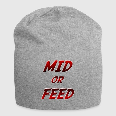 Mid or feed - Beanie in jersey