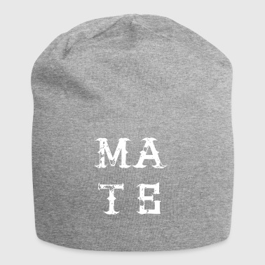 MATE SOUL bestie best friend love partner - Jersey Beanie