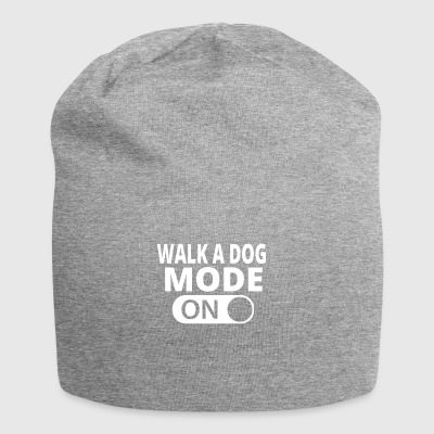MODE ON TO WALK A DOG - Jersey Beanie