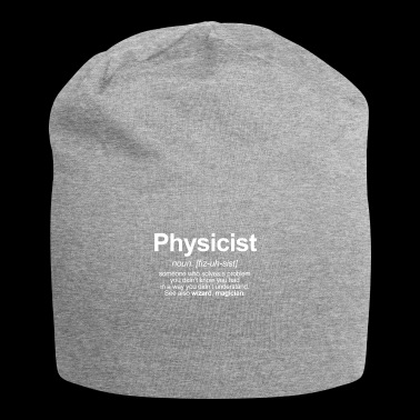 physicist - Jersey Beanie