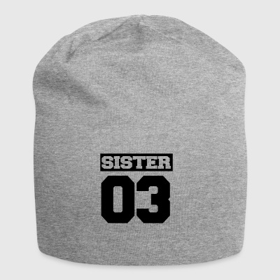 Sister shirt for siblings - Jersey Beanie