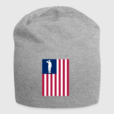 America del Patriot - Beanie in jersey